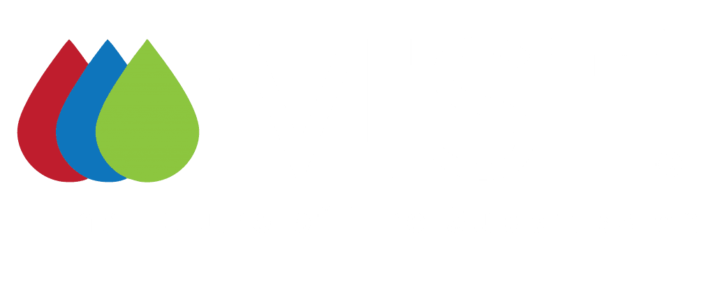 White iMist logo with tagline - the future of fire suppression