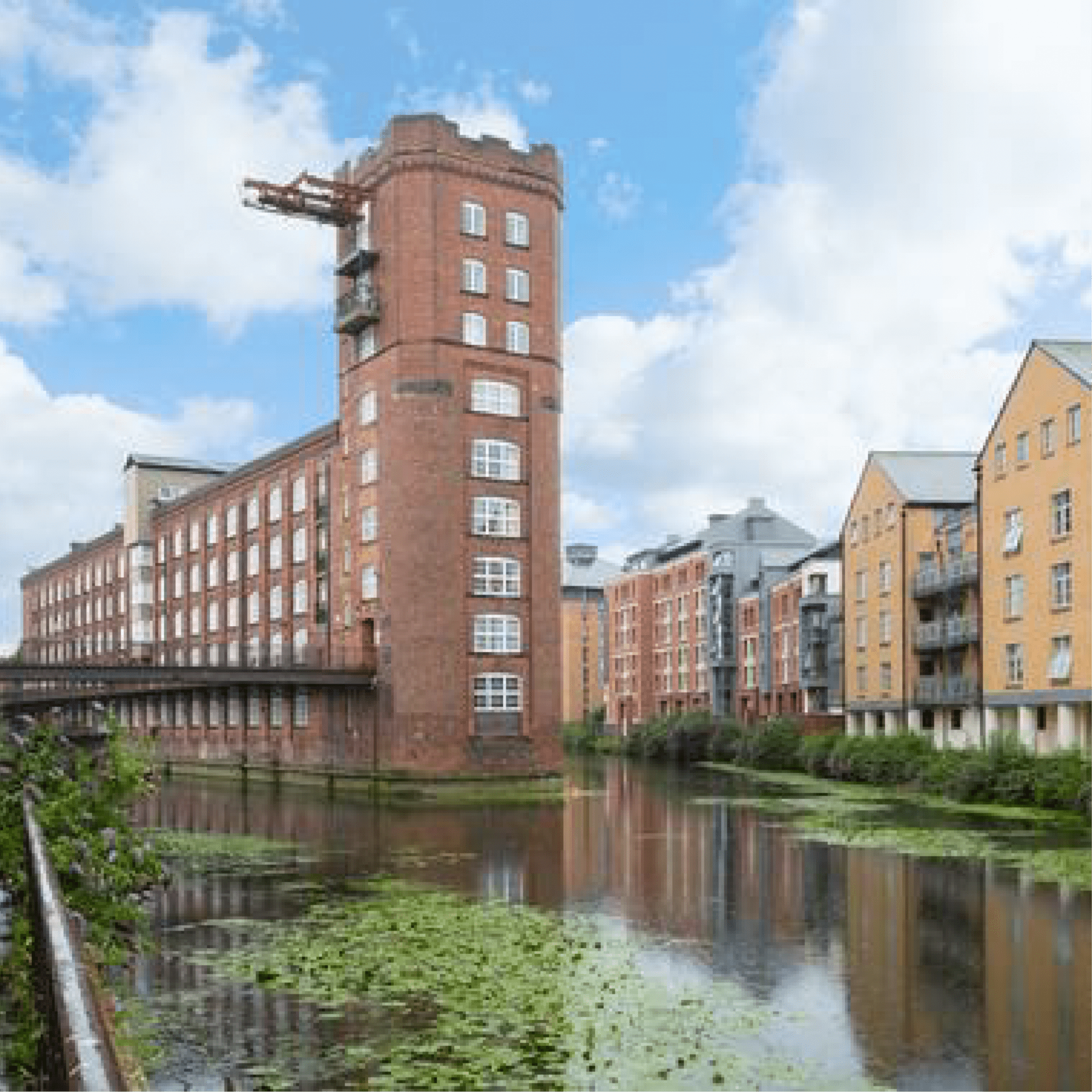 iMist residential case study where iMist installed a fire suppression system in Downtree Wharf London