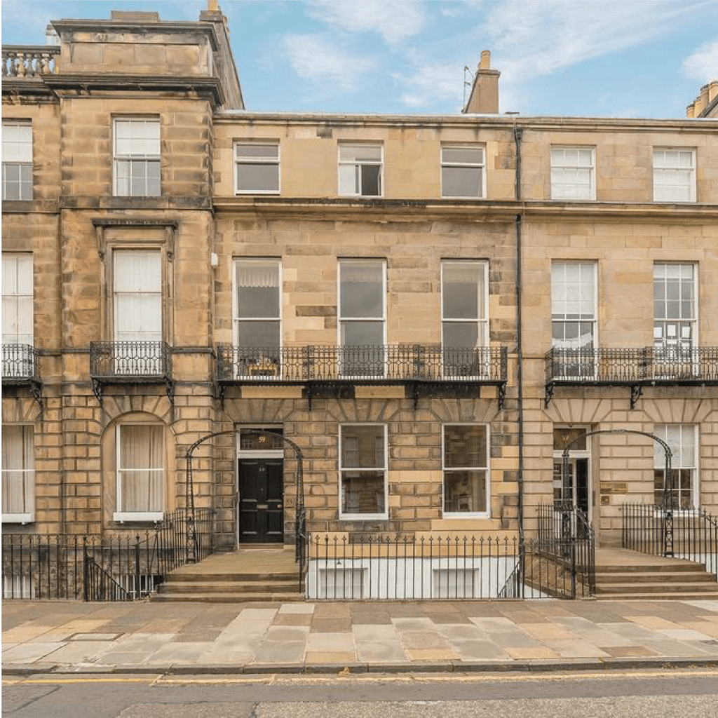 iMist installed a fire suppression system for luxury flats in Melville Street in Edinburgh