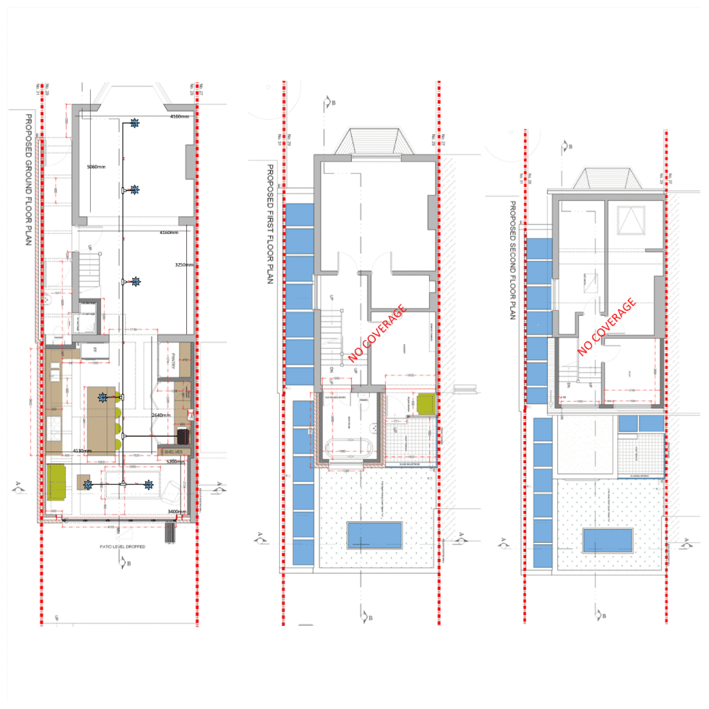 floorplan of a loft conversion for imist