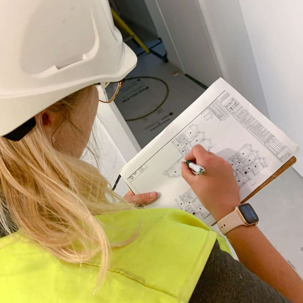 health and safety manager at site on imist