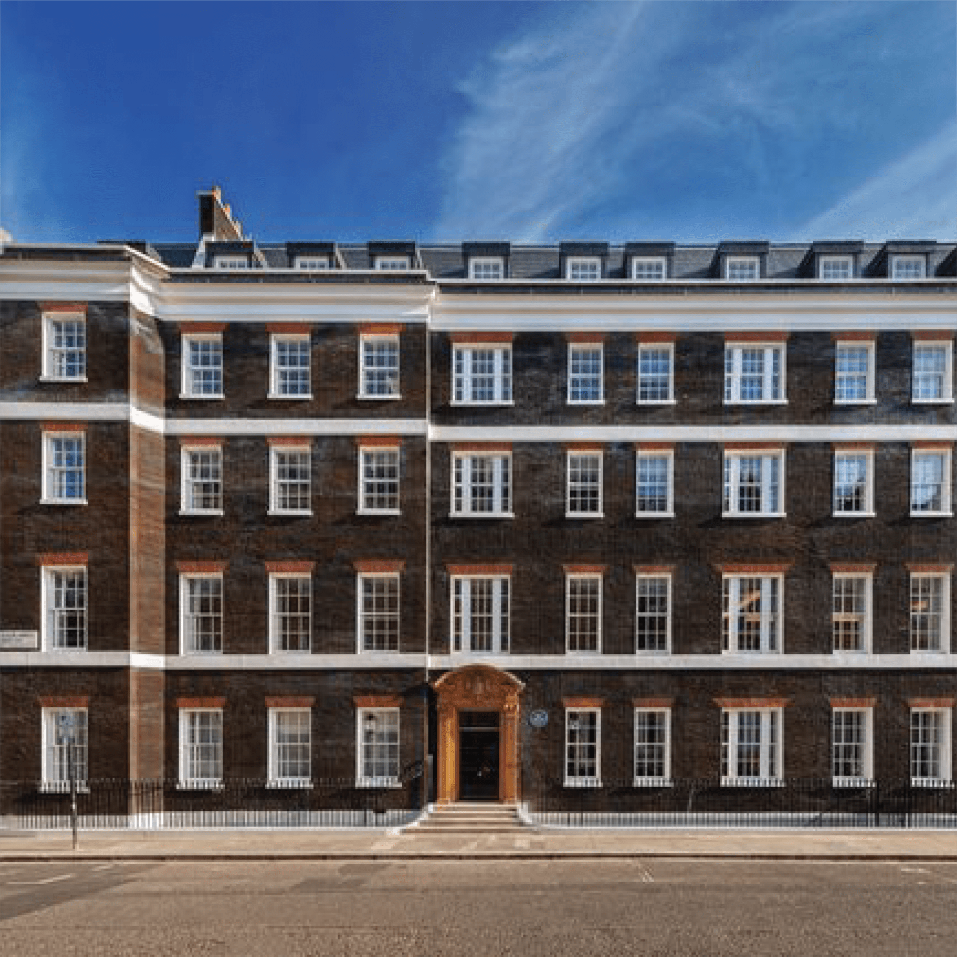 queens anne gate, london imist installed a fire suppression system in the residential flats and penthouse