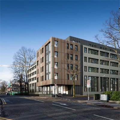 Caradog Student Accommodation iMist installed fire suppression system