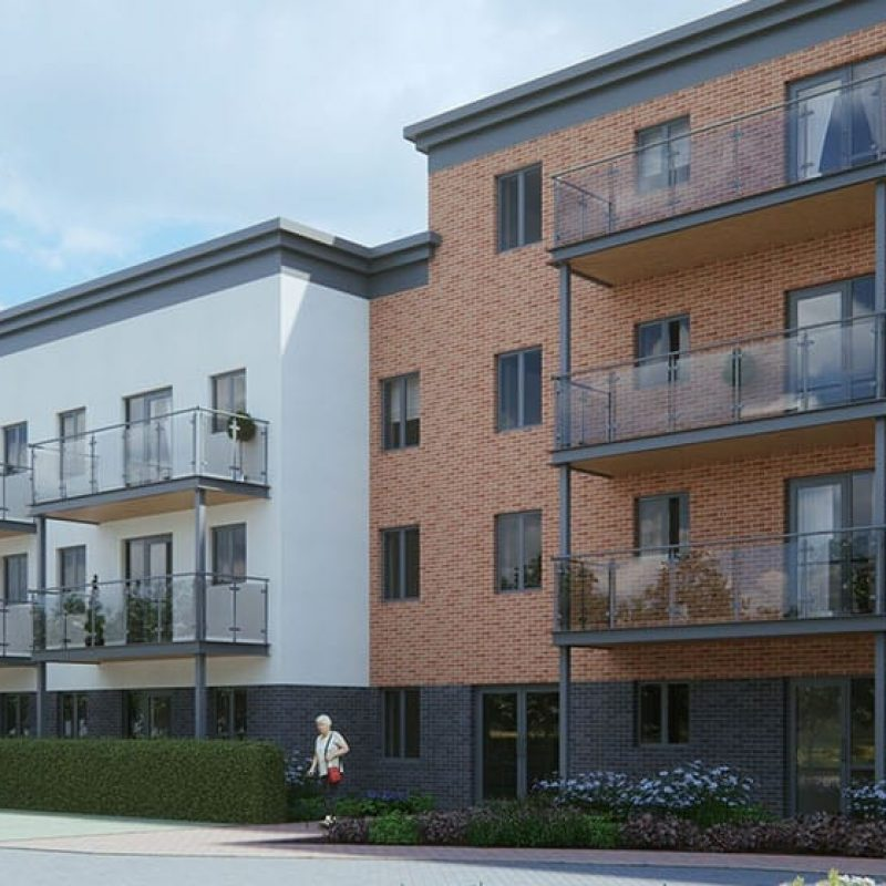 residential build where iMist installed a fire suppression system for Llys Faith in Scotland